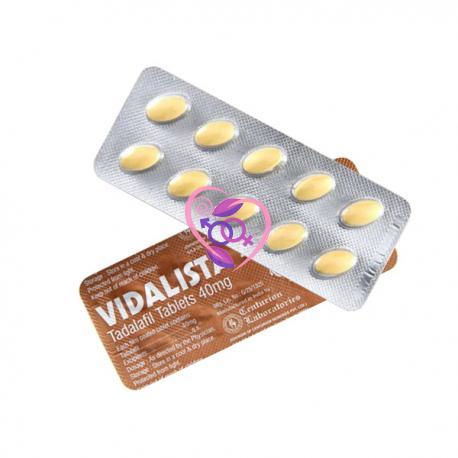 Vidalista 40mg N10 (Tadalafil)