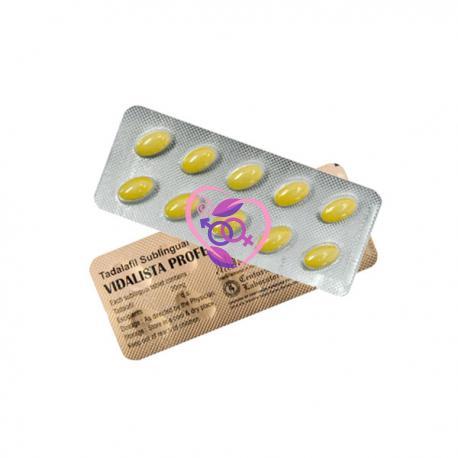 Vidalista Professional 20mg N10 (Tadalafil)